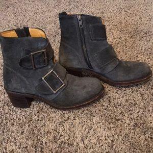 Frye Shoes - Frye Sabrina Double Buckle boots